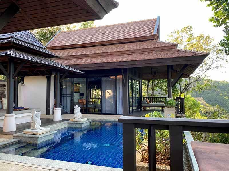 Hillside Ocean View Private Pool Villa